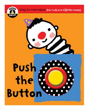 Begin Smart *Push The Button* 12m - 18m Book