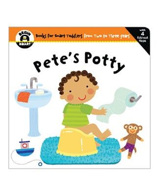 Begin Smart *Pete's Potty!* 18m - 24m Book