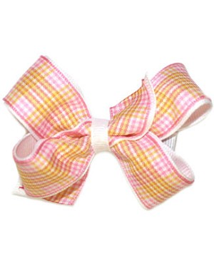 Blooming Bows Sunburst Mini Twist Clippie