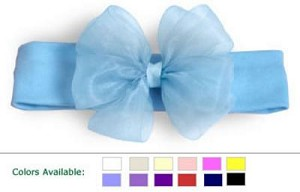 ~ Blooming Bows Newborn Classic Headband