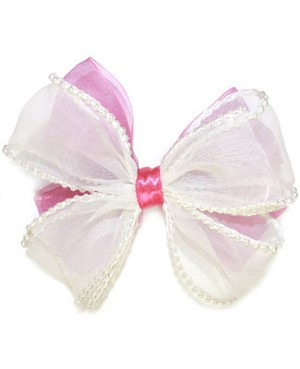 Blooming Bows Pearl Barrette *Two Colors*