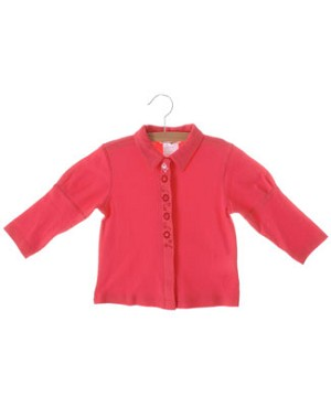 Catimini Coral L/S Top With Flower Details