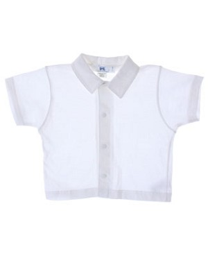 Clayeux White S/S Shirt