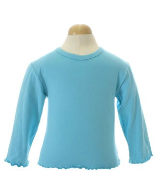 Corky & Company Turquoise L/S Tee