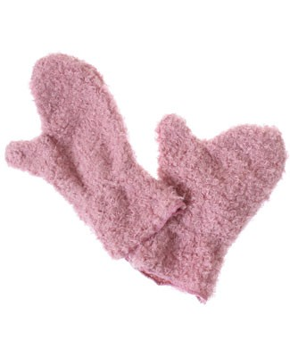 Corky & Company Timeless Pieces Pink Mittens