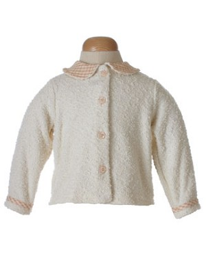 II: Cozy Toes Chrysanthemum Rose Cream Sweater