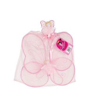 Creative Education Pink Angel Wings with Angel Wand