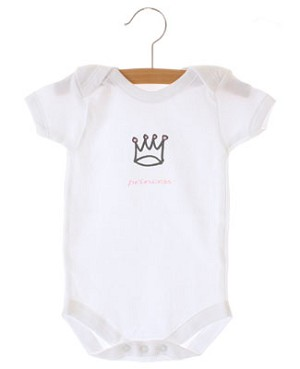 II: Crystaleigh Baby *Princess* Bodysuit