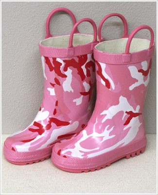 Foxfire Pink Camo Boots