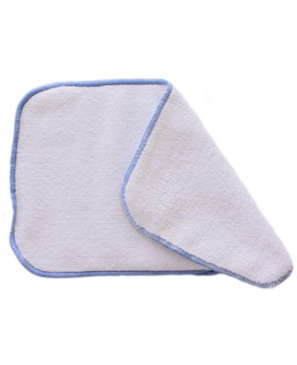 II: Fuzzi Bunz White/Blue Double Doodie Cloths