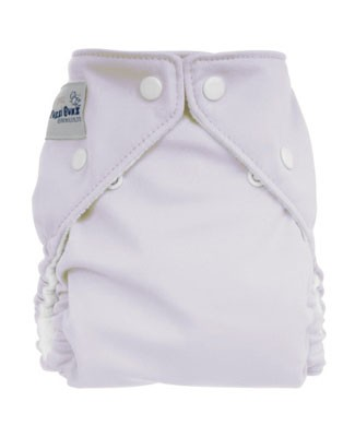 II: Fuzzi Bunz White Reusable Diaper