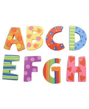 Ganz *Cute & Sassy* Wall Decor Letter F