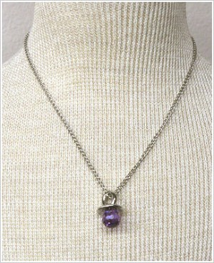 Ganz Birthstone Pacifier Necklace *Choose Month*