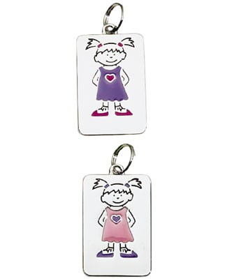 Ganz My Kids Personal Tags *Girls Blank*