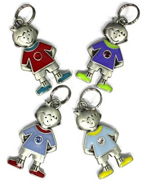 Ganz My Kids *Birthstone Charm* Boys