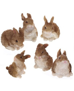 Ganz Brown Bunny Figurine *6 Styles!*