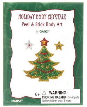 Ganz CHRISTMAS Body Crystals *6 Designs*