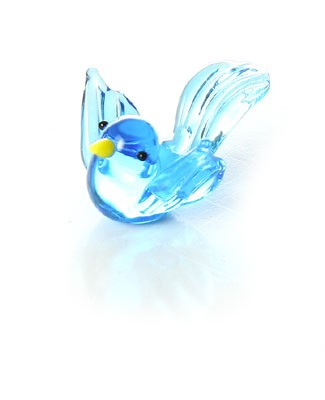 Ganz *Blue Bird* Mini Glass Animal World