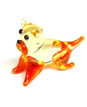 Ganz *Bulldog* Mini Glass Animal World