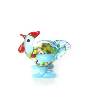 Ganz *Chicken* Mini Glass Animal World