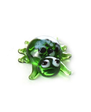 Ganz *Green Spider* Mini Glass Animal World