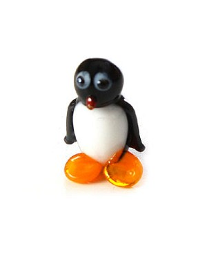 Ganz *Baby Penguin* Mini Glass Animal World