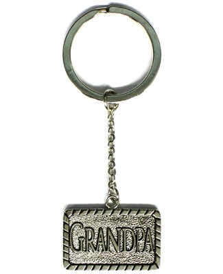 Ganz *I Love You Grandpa* Key Ring