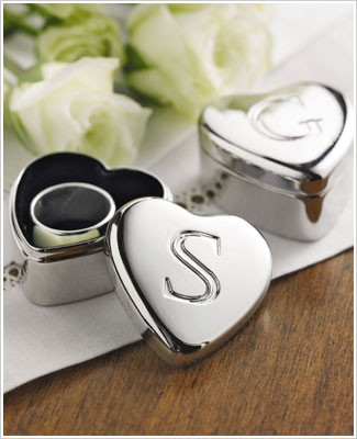 : Ganz Initially Yours Heart Boxes P - W