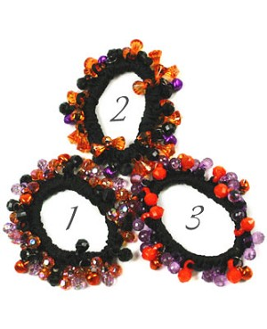 Ganz Spooky Ponytail Holder