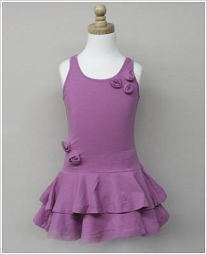 Girl and Company *Escape* Miami Dusty Rose Dress With Flowers