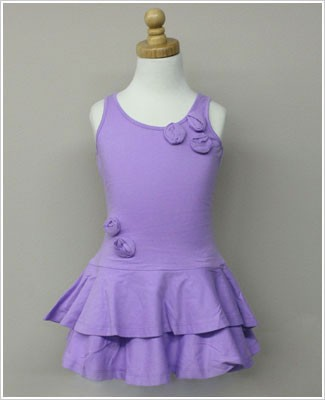 Girl and Company *Escape* Miami Lilac Dress With Flowers