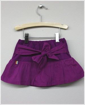 Girl and Company *Cotton Candy* Purple Plum Skort