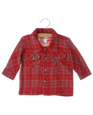 GT Red Plaid L/S Shirt