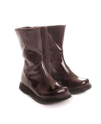 II: Greggy Girl *BROWN PATENT* Boots