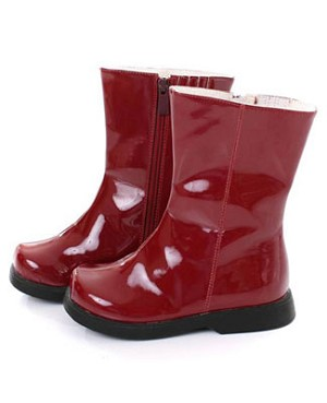 II: Greggy Girl *CHERRY PATENT* Boots
