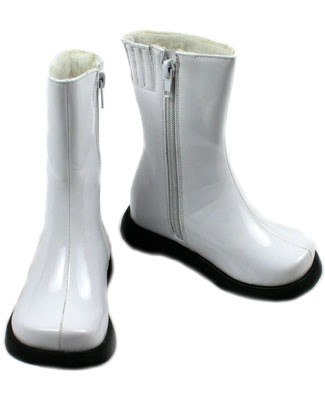 II: Greggy Girl *WHITE PATENT* Boots