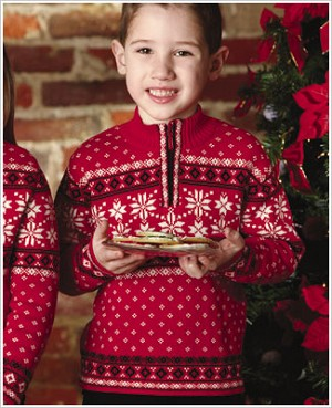 : Hartstrings Boys/Dads Christmas Sweater