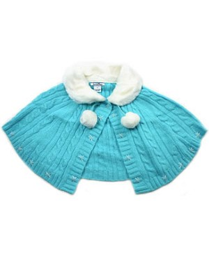 II: Hartstrings Blue Cape Sweater