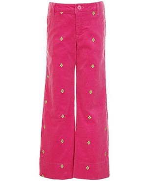Hartstrings Pink Cord Pants
