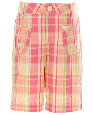 12m II: Hartstrings Pink Plaid Shorts
