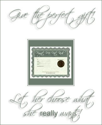 ~ Gift Certificates