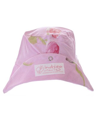Medium (Girl) Indygo Artwear Baby Buds Sun Hat