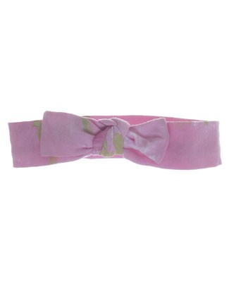 S/M (Tod-Girl) Indygo Artwear Light Pink Baby Buds Headbow