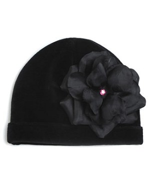 Z: Black Rose Beanie Hat