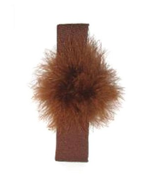 Z: Marabou Headband *Many Colors!*