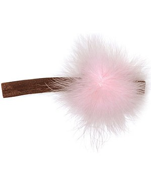 Z: Marabou Flowerette Headband *Many Colors!*