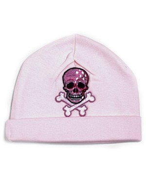 Z: Skull Beanie Hat *Choose Hat Color!*
