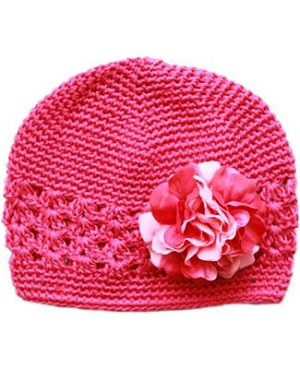 Z: Crochet Raspberry w/ Power of Pink Geranium Hat