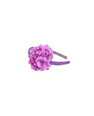 Z: Purple Geranium Hard Headband