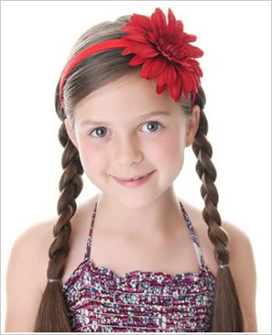 Z: Red Daisy Hard Headband